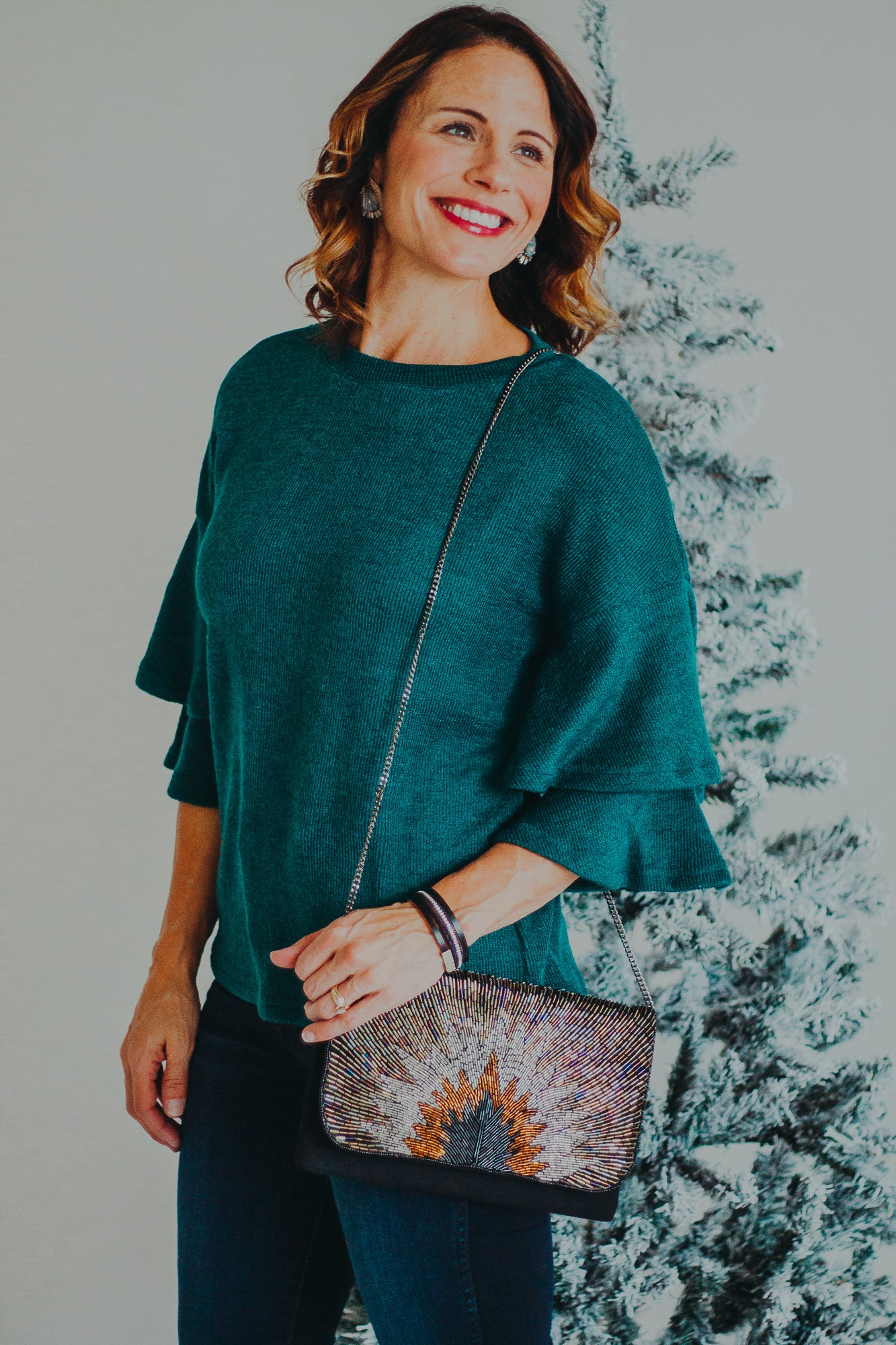 THML Evergreen Knit Sweater
