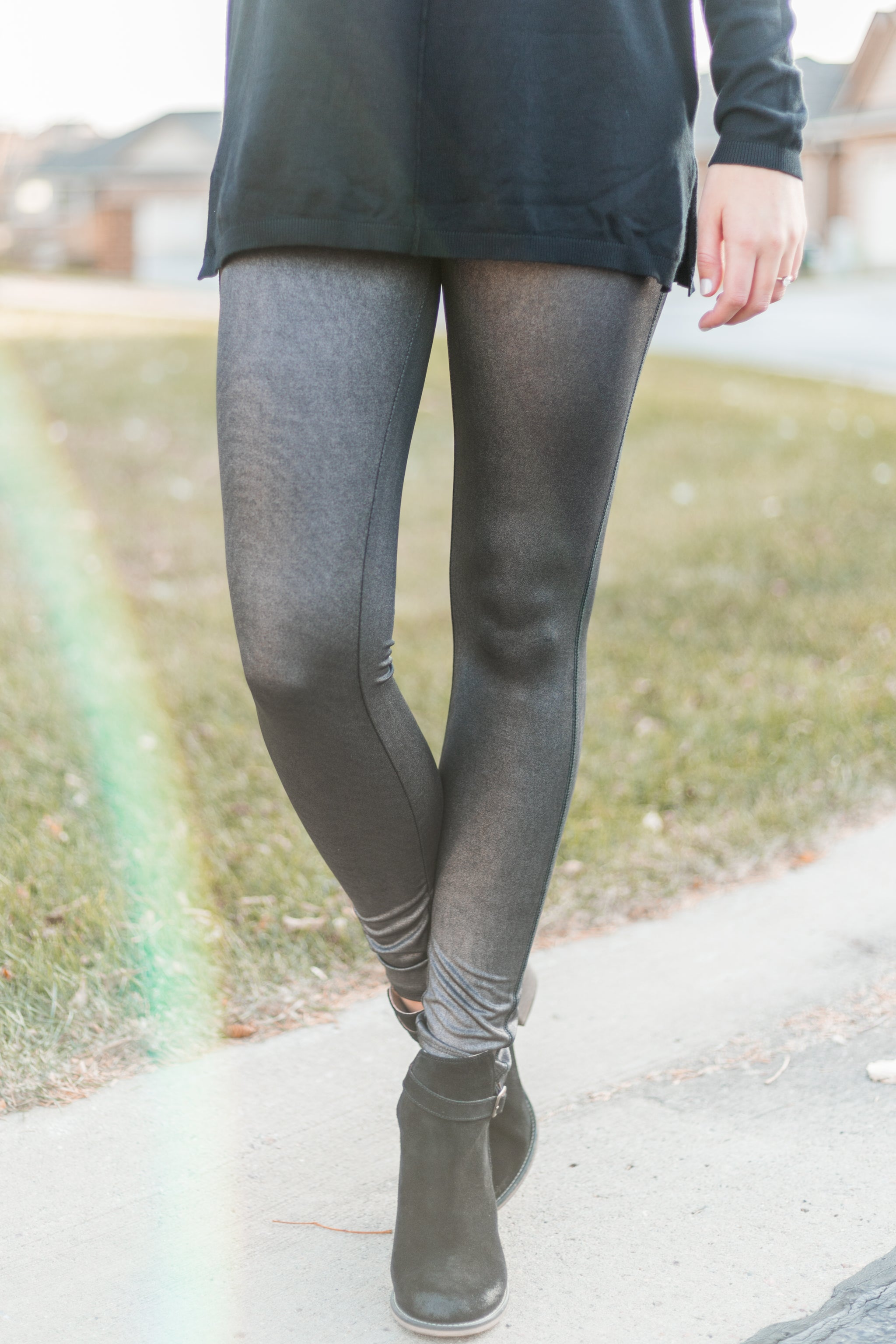 Iridescent Shiny Legging