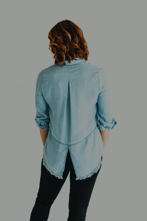 Delilah Denim Button Down