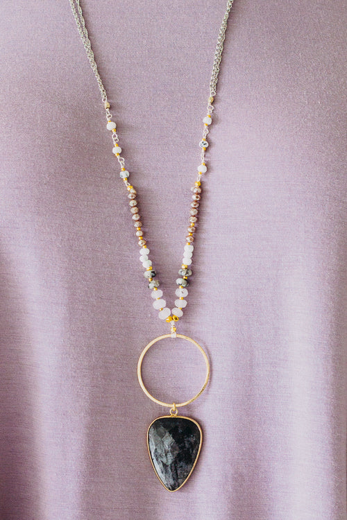 Nakamol Circle Pendant Necklace
