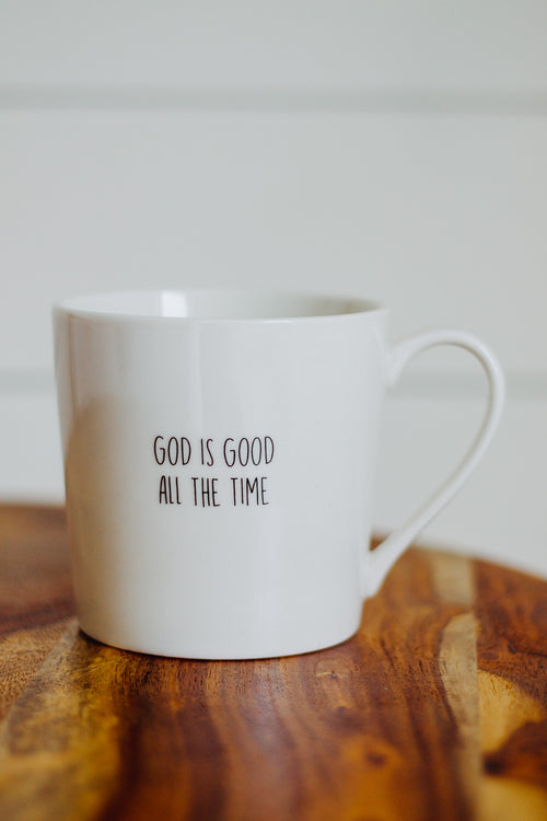 God Is Good Cafe Mug