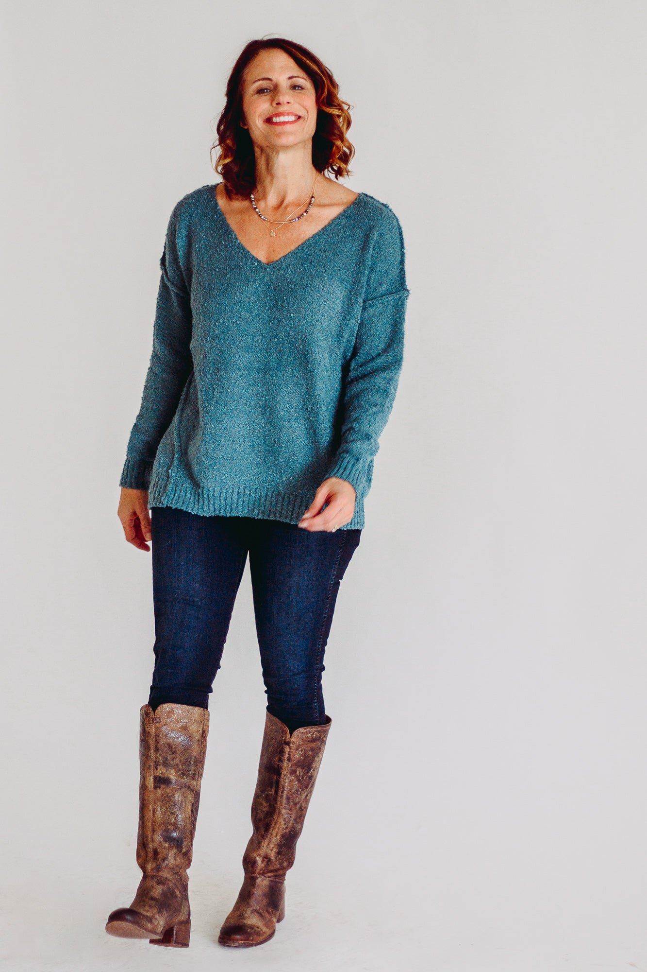 Miracle Indigo Sweater