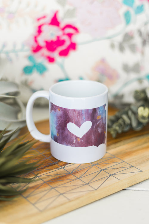 South Dakota Heart Mug