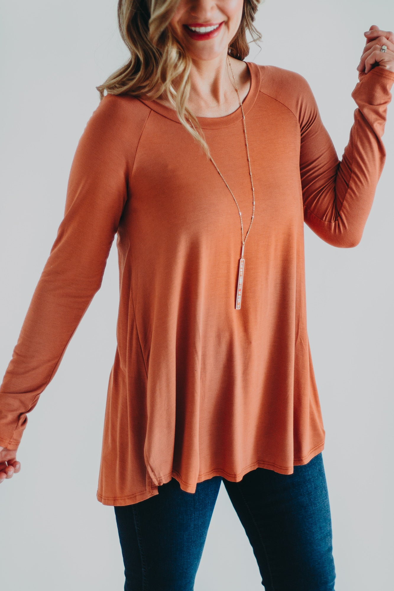 True Terracotta Top