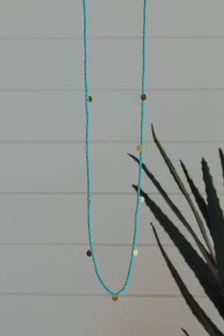 Rudy Rectangle Necklace *Royal Blue