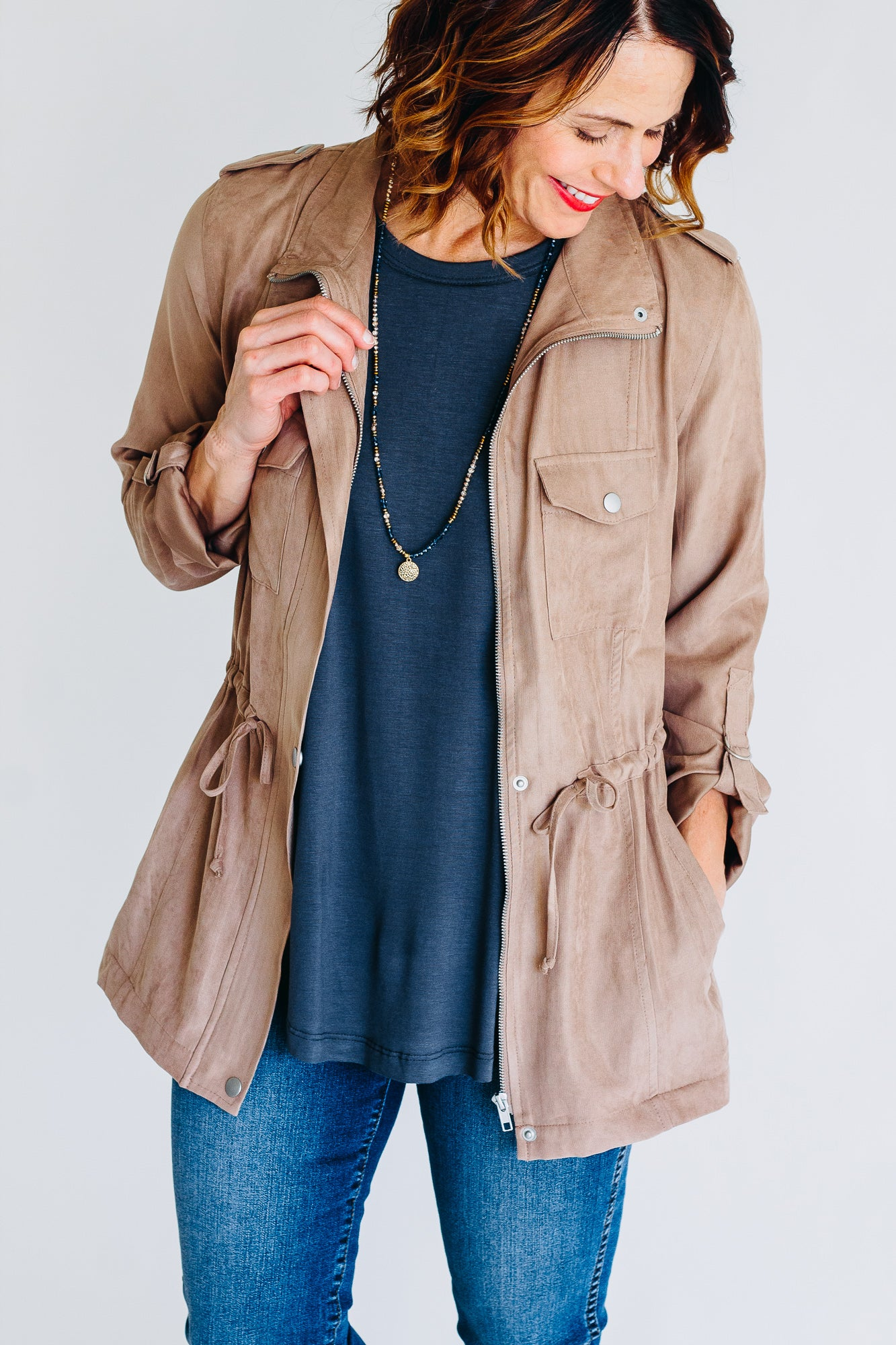 Dana Drawstring Jacket