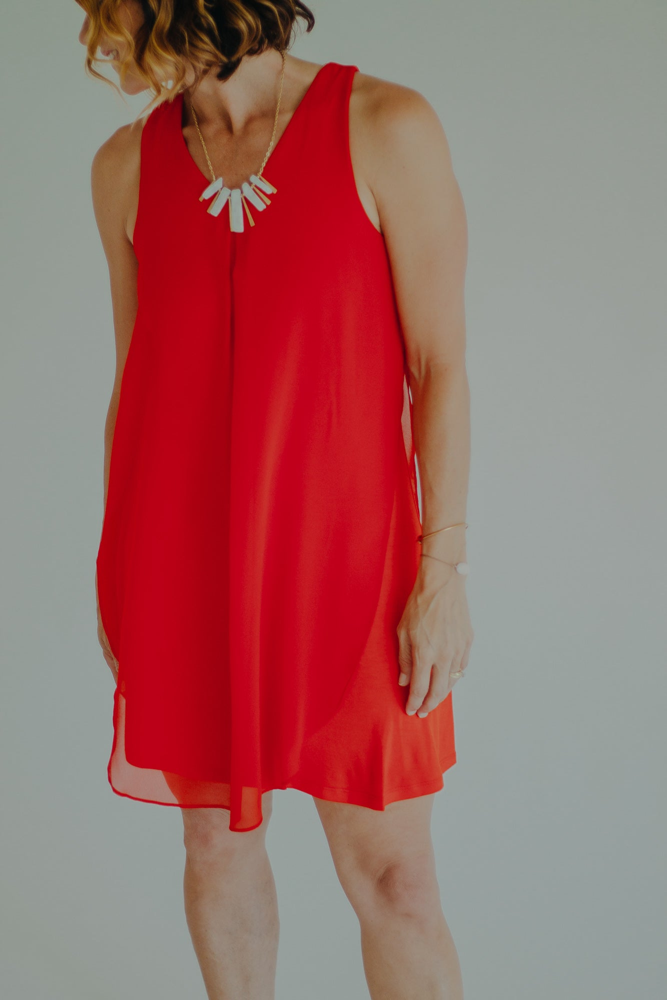 THML Zola Dress *Ruby Red
