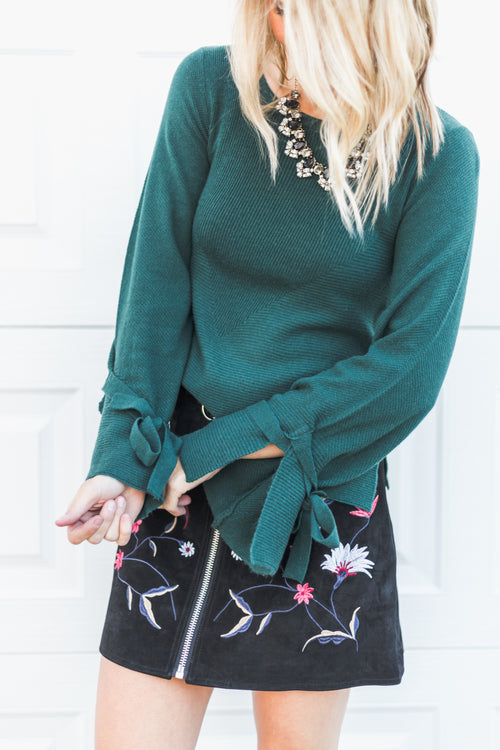 Emerald Dream Sweater