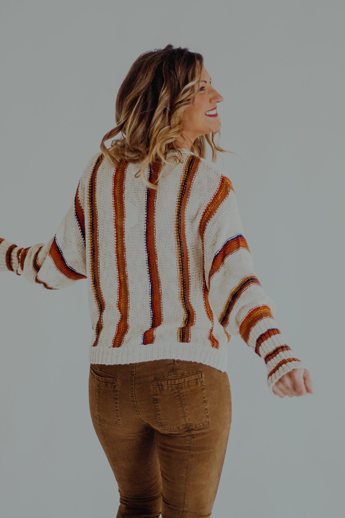 Tetons Stripe Sweater