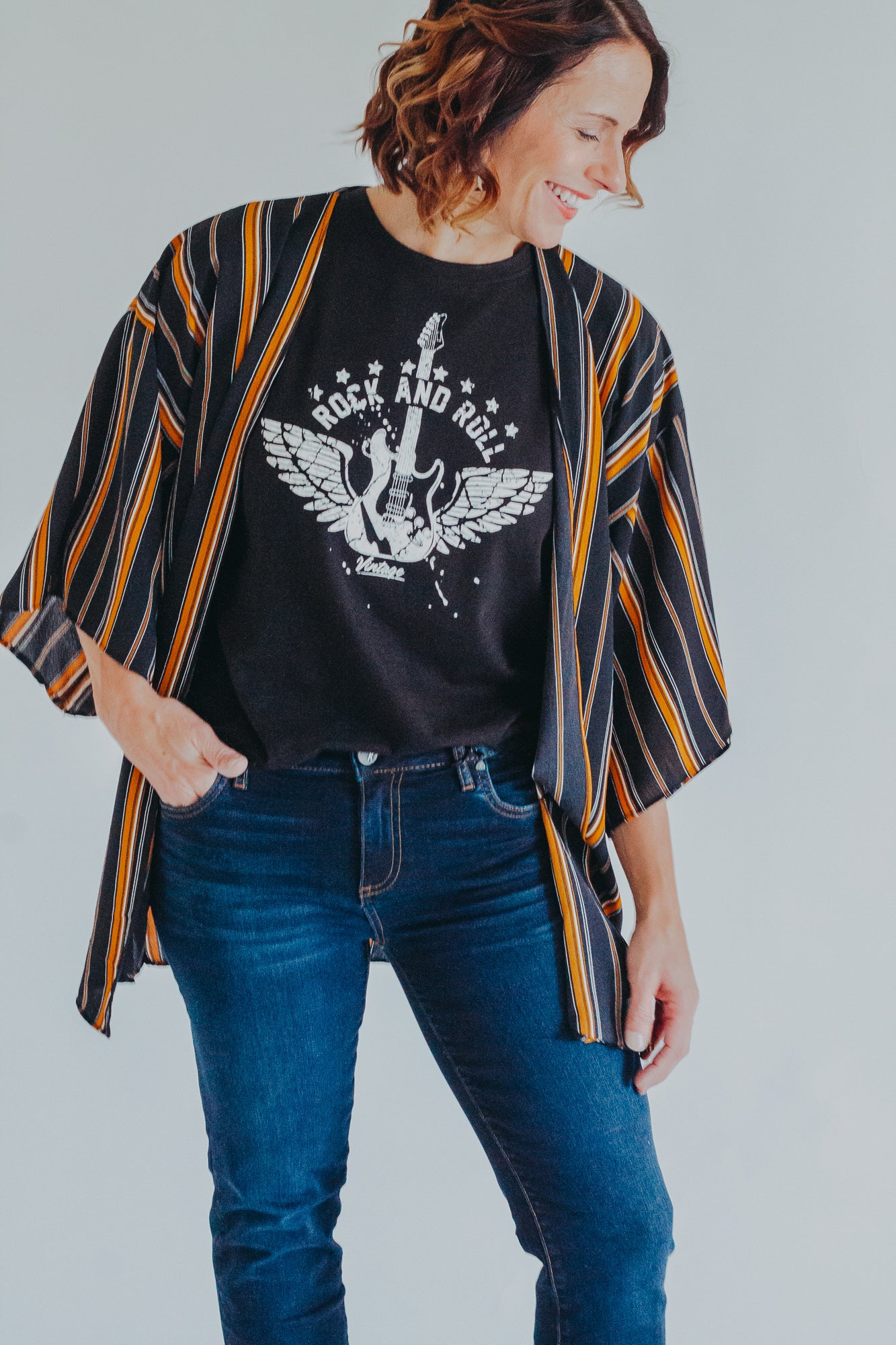 Rock & Roll Graphic Tee