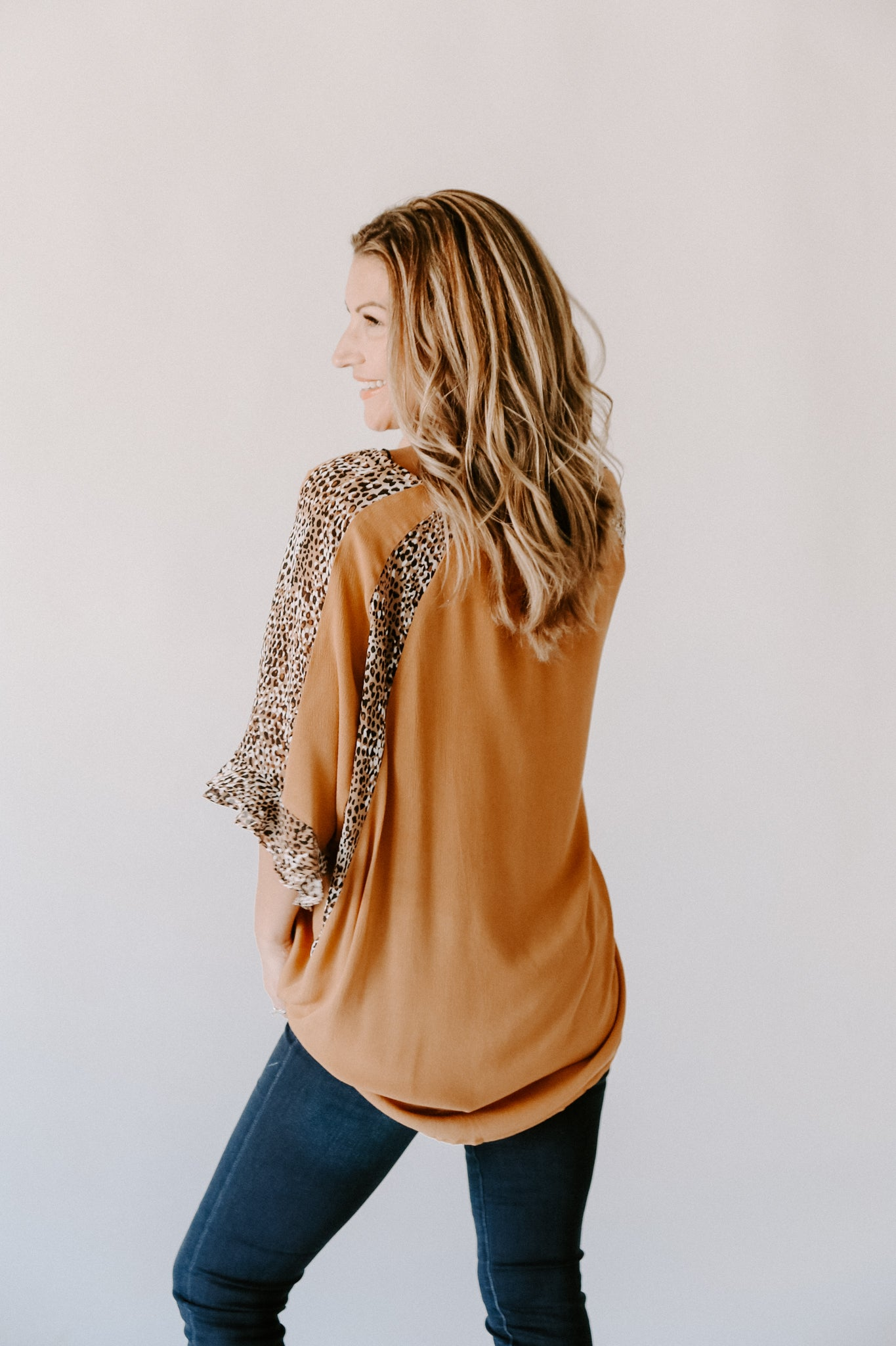 The Penni Leopard Top
