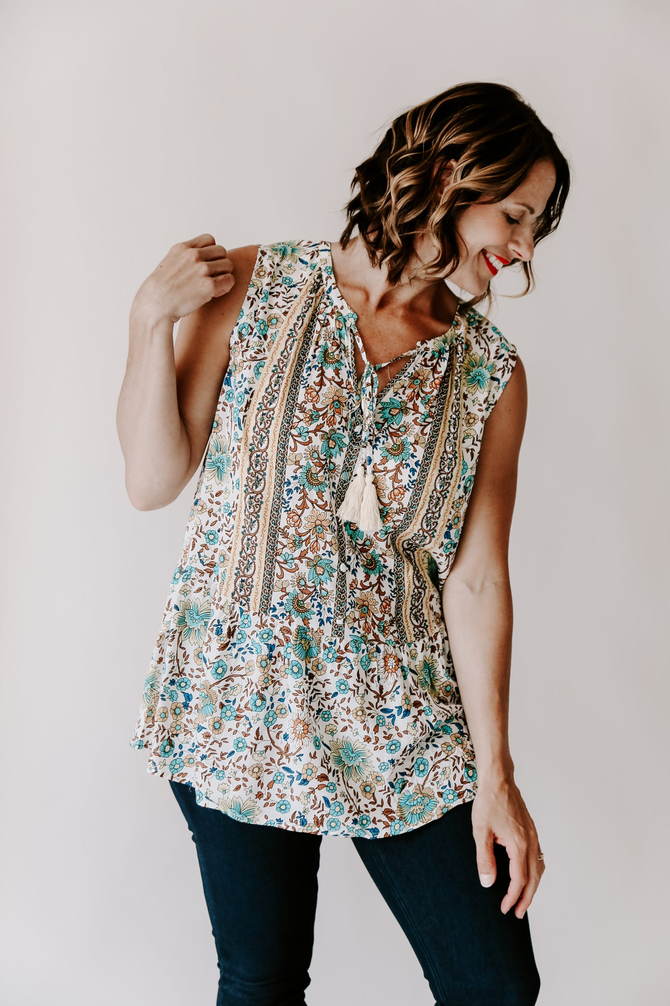Aster Sleeveless Top
