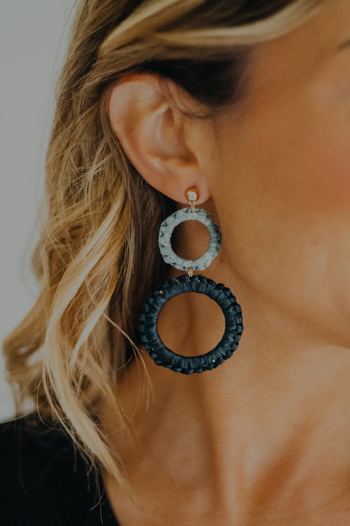 Black Treasure Earring
