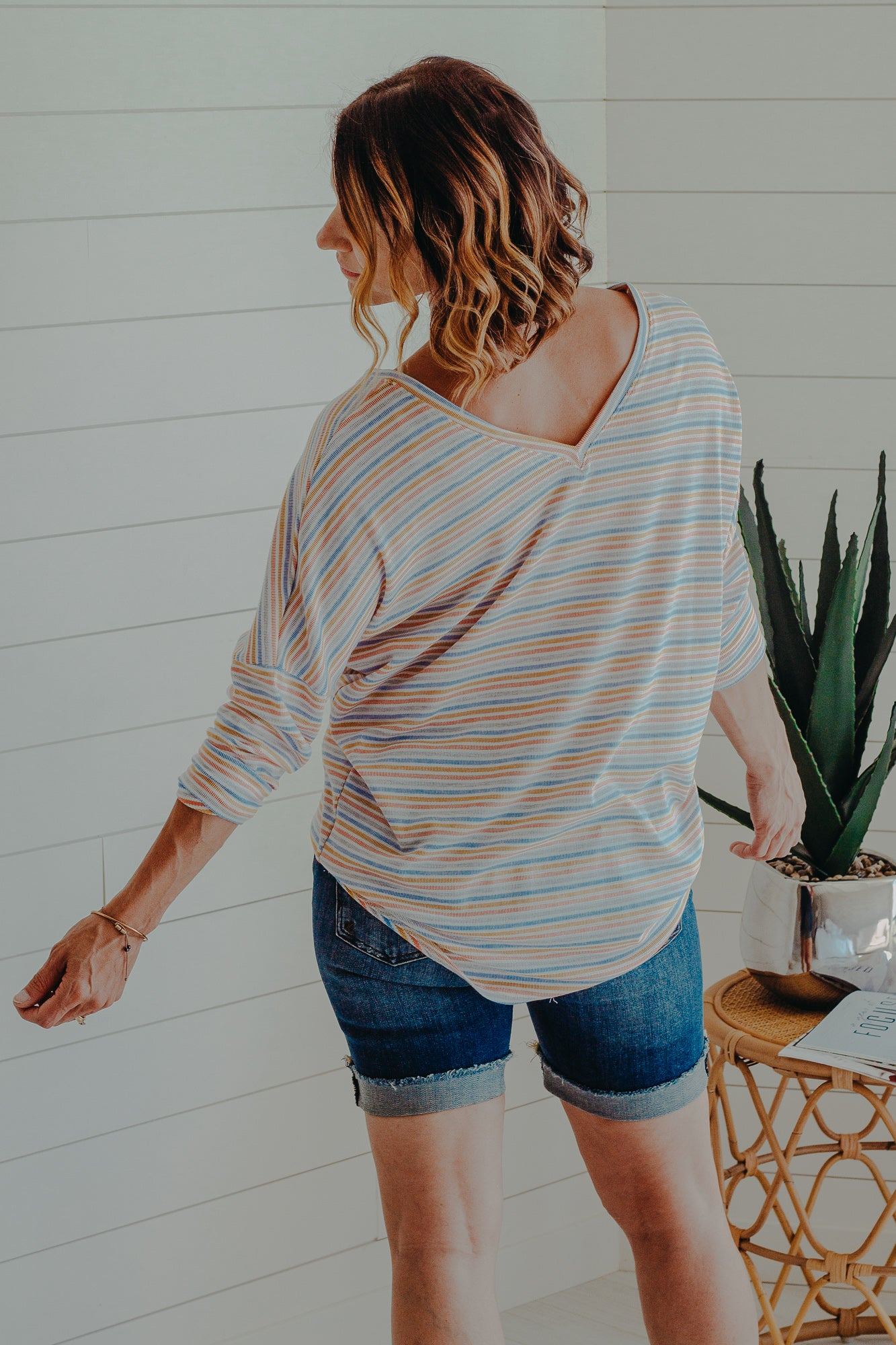 Maybelle Stripe Top