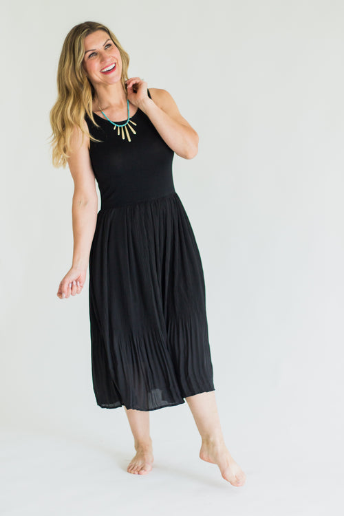 The Leonard Dress *Black
