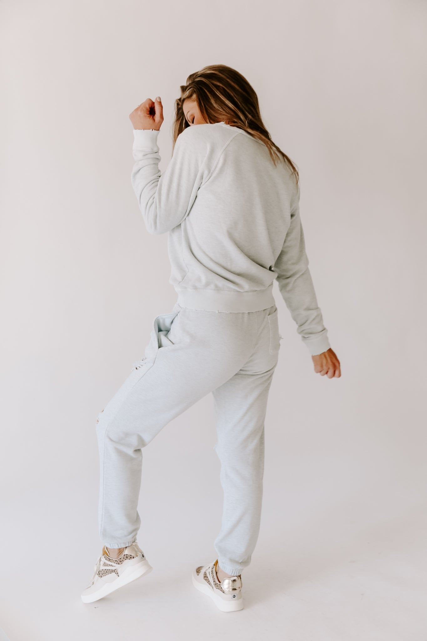 Westlie Distressed Sweatpants