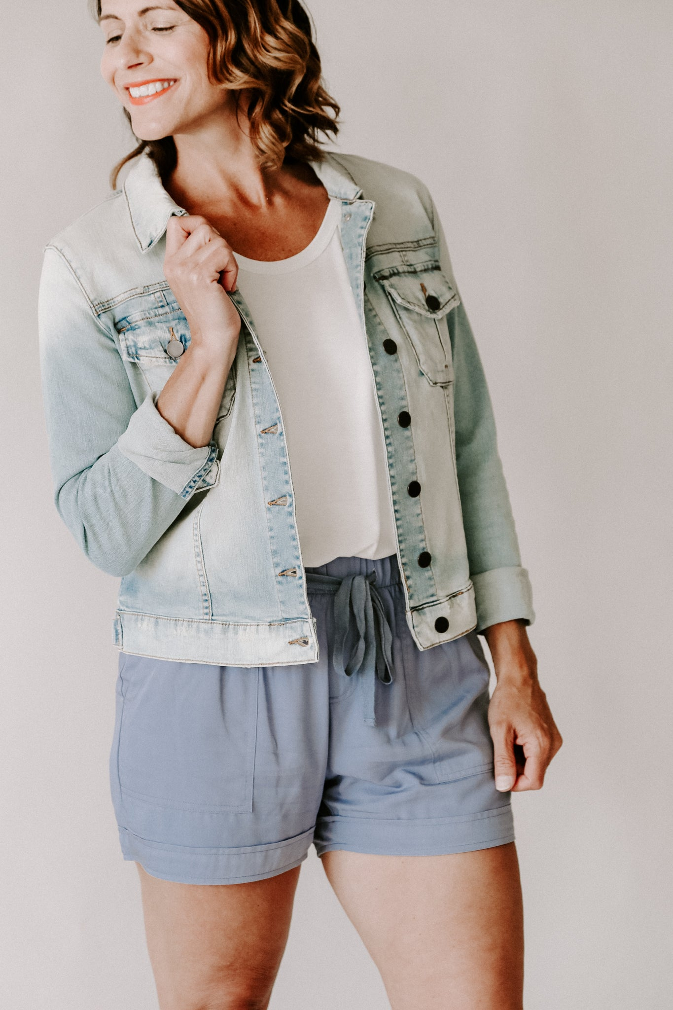 KUT Light Base Amelia Denim Jacket
