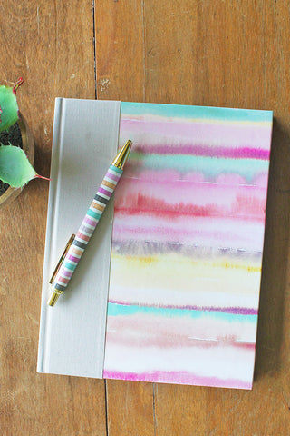 Desert Sunrise Watercolor Notebook