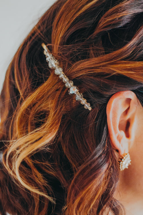 Sterling Hair Clip