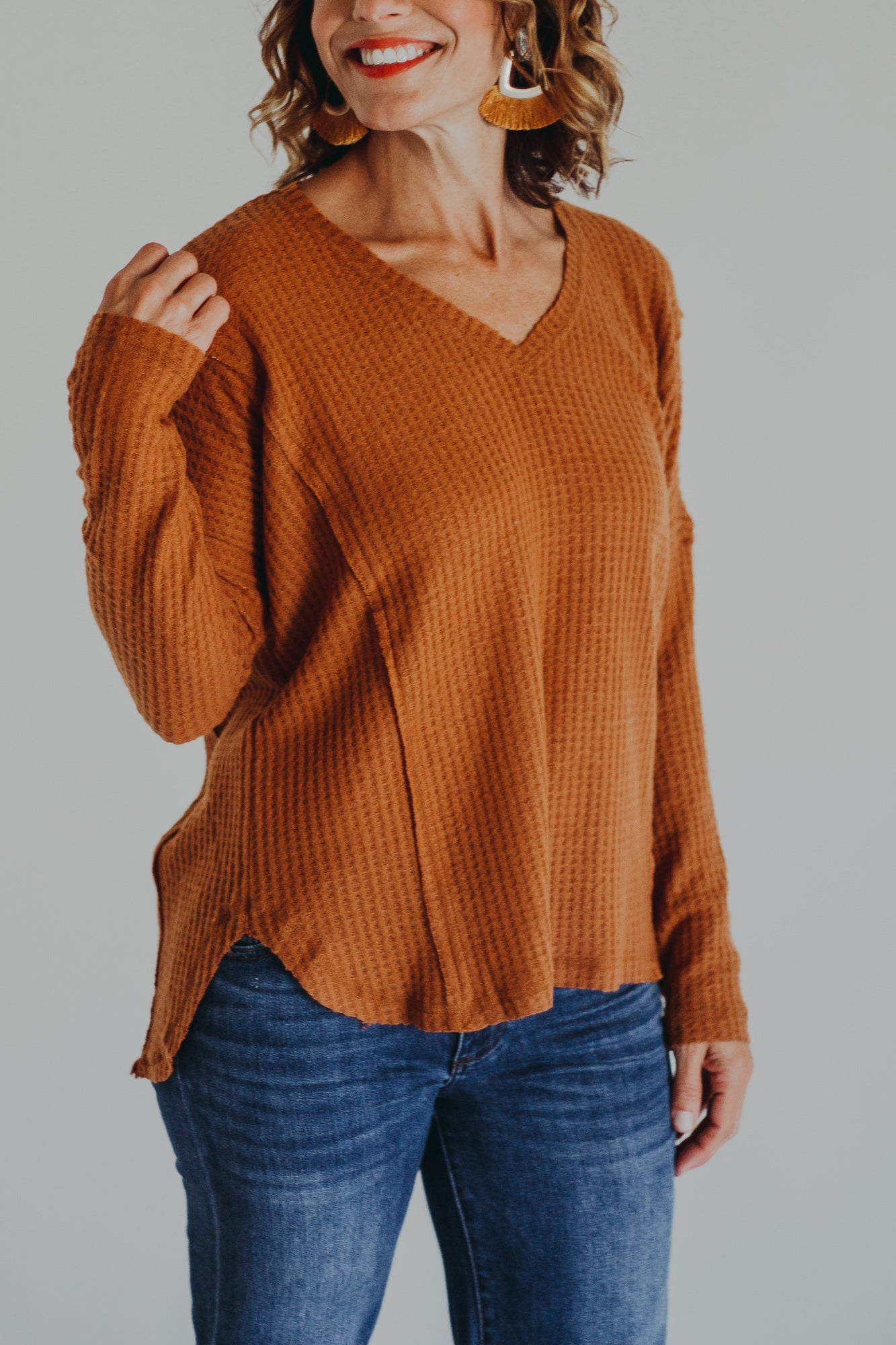 Kate Camel Top