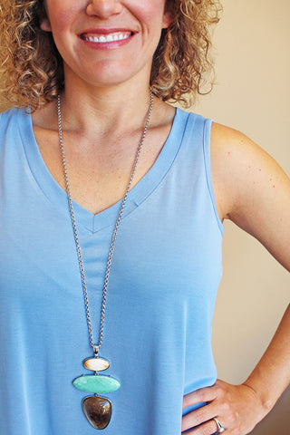 Linear Shape Necklace