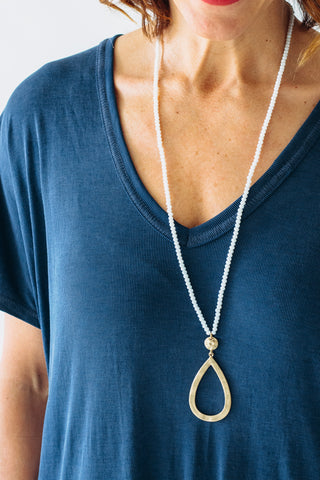 Bolter Grey Necklace