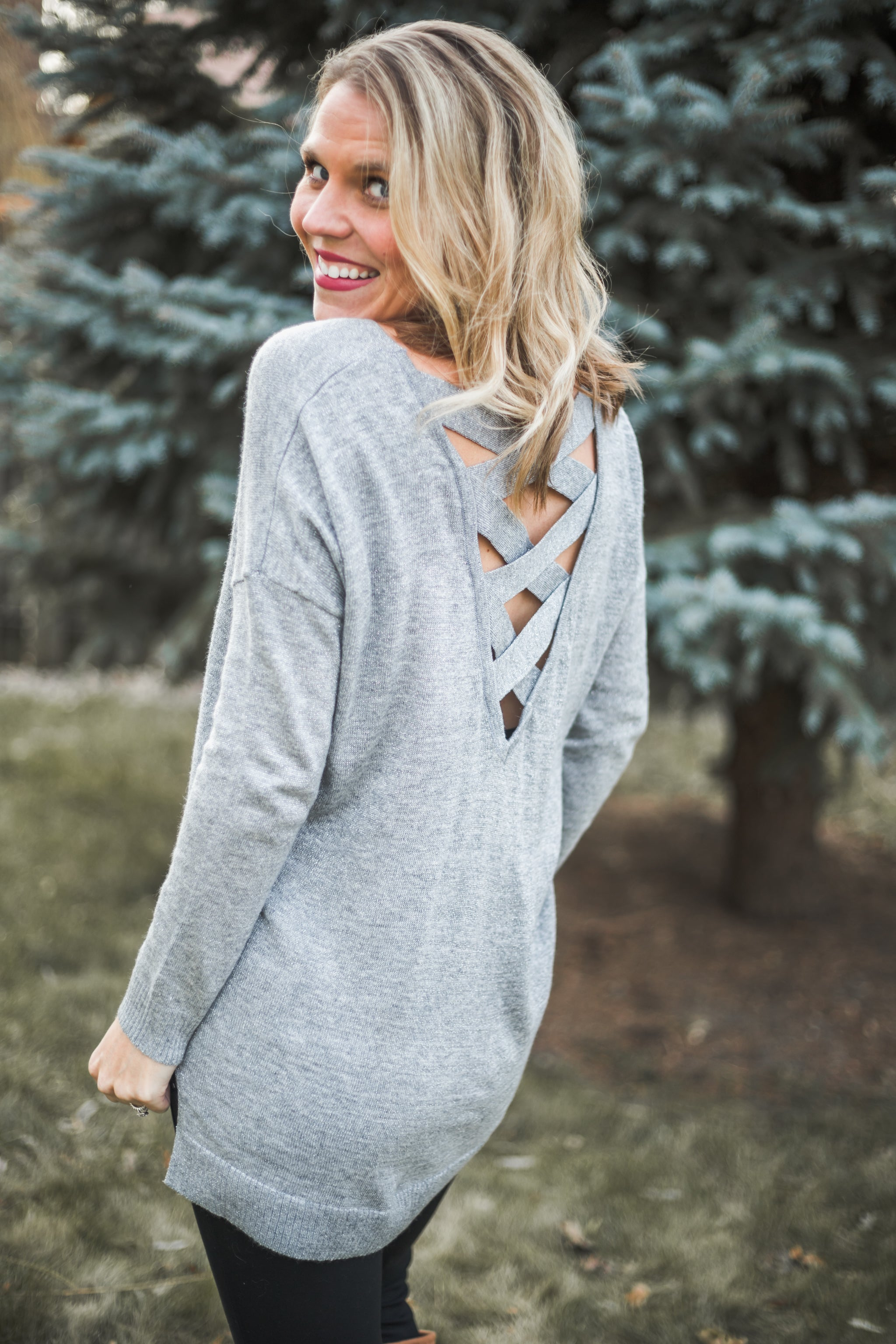 Silver Nights Sweater