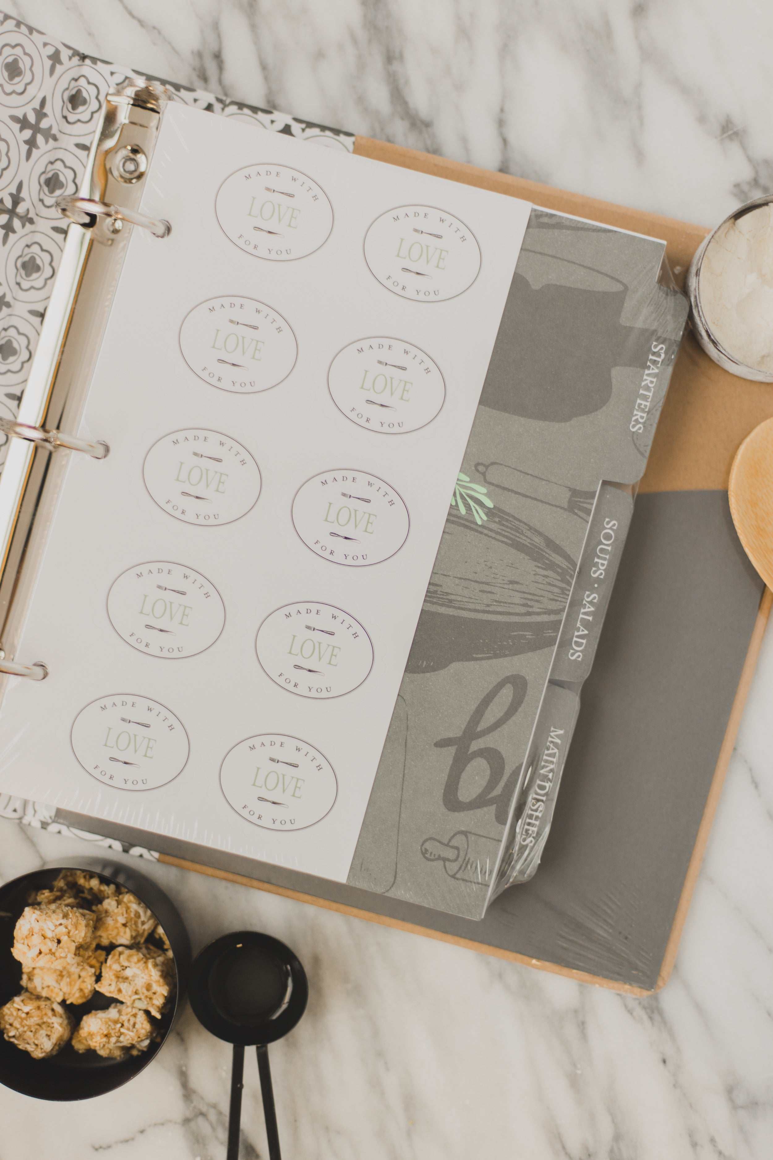 Farmhouse Keepsake Recipe Diary