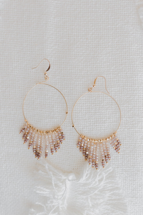 Shine On Bead Earring