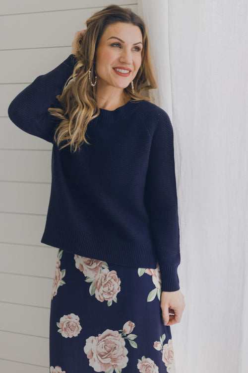 Dark Storm Knit Sweater