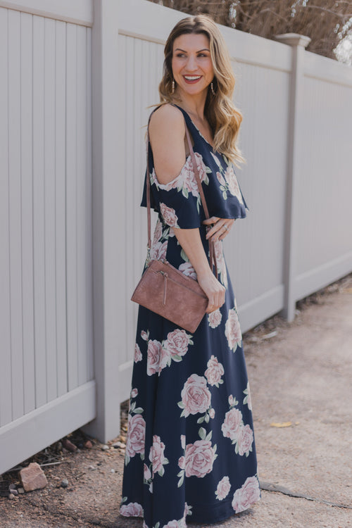 Princeton Soft Rose Maxi Dress