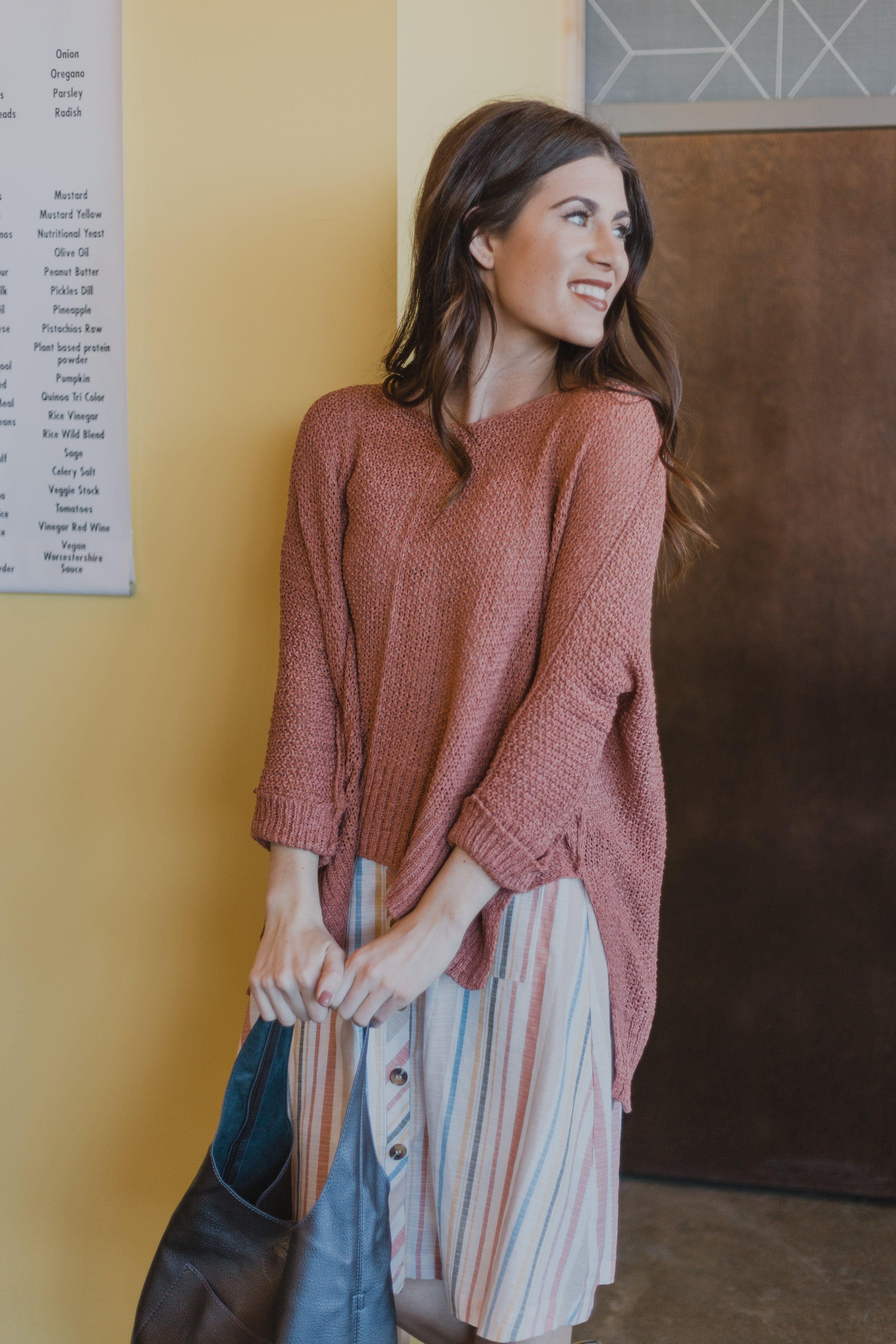 Taryen Ginger Sweater