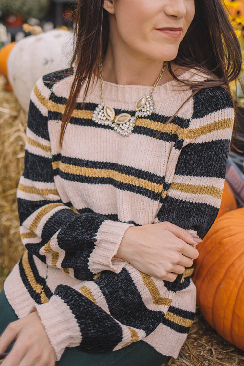 Edna Stripe Sweater
