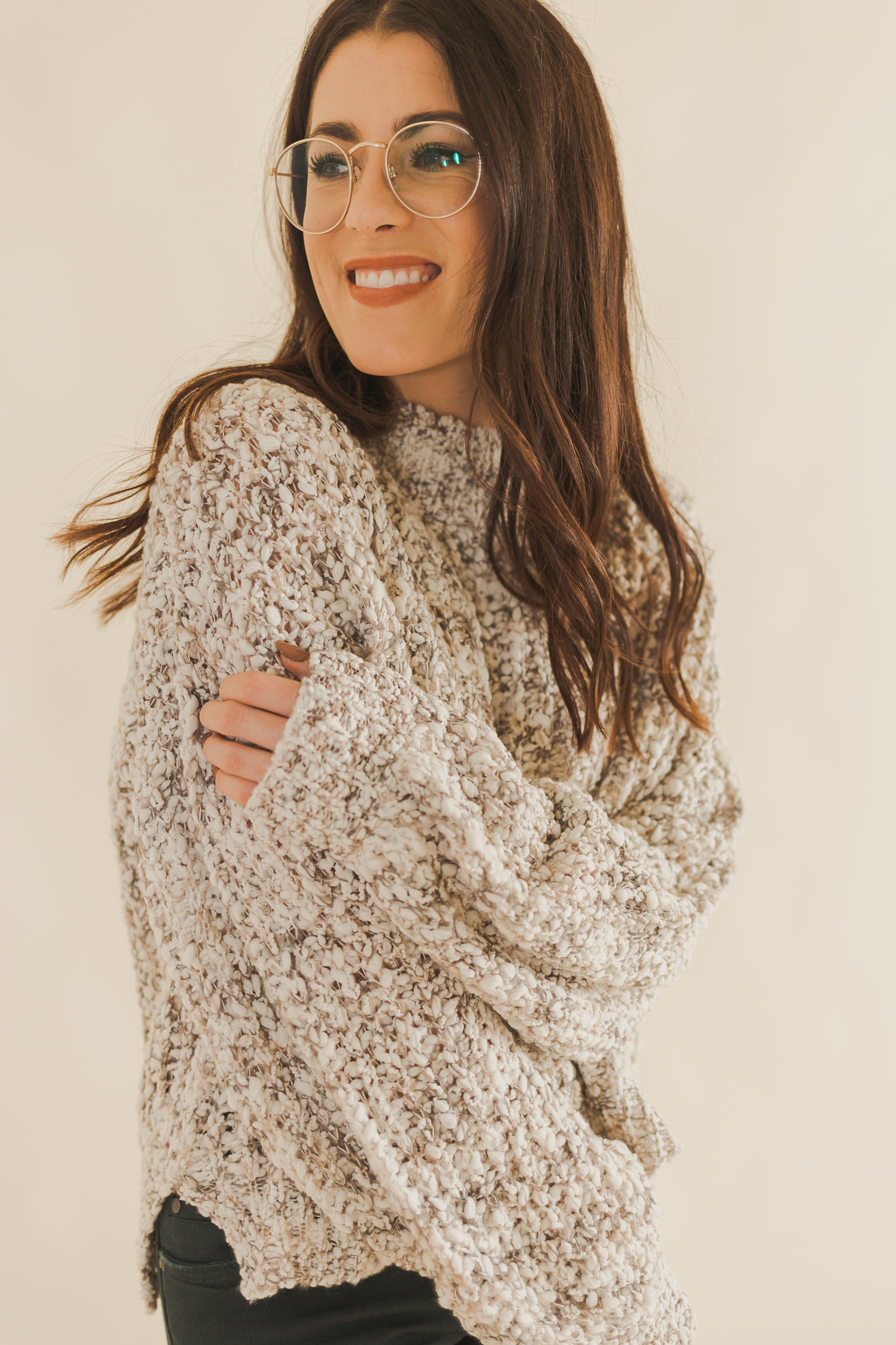 Briston Ivory Sweater