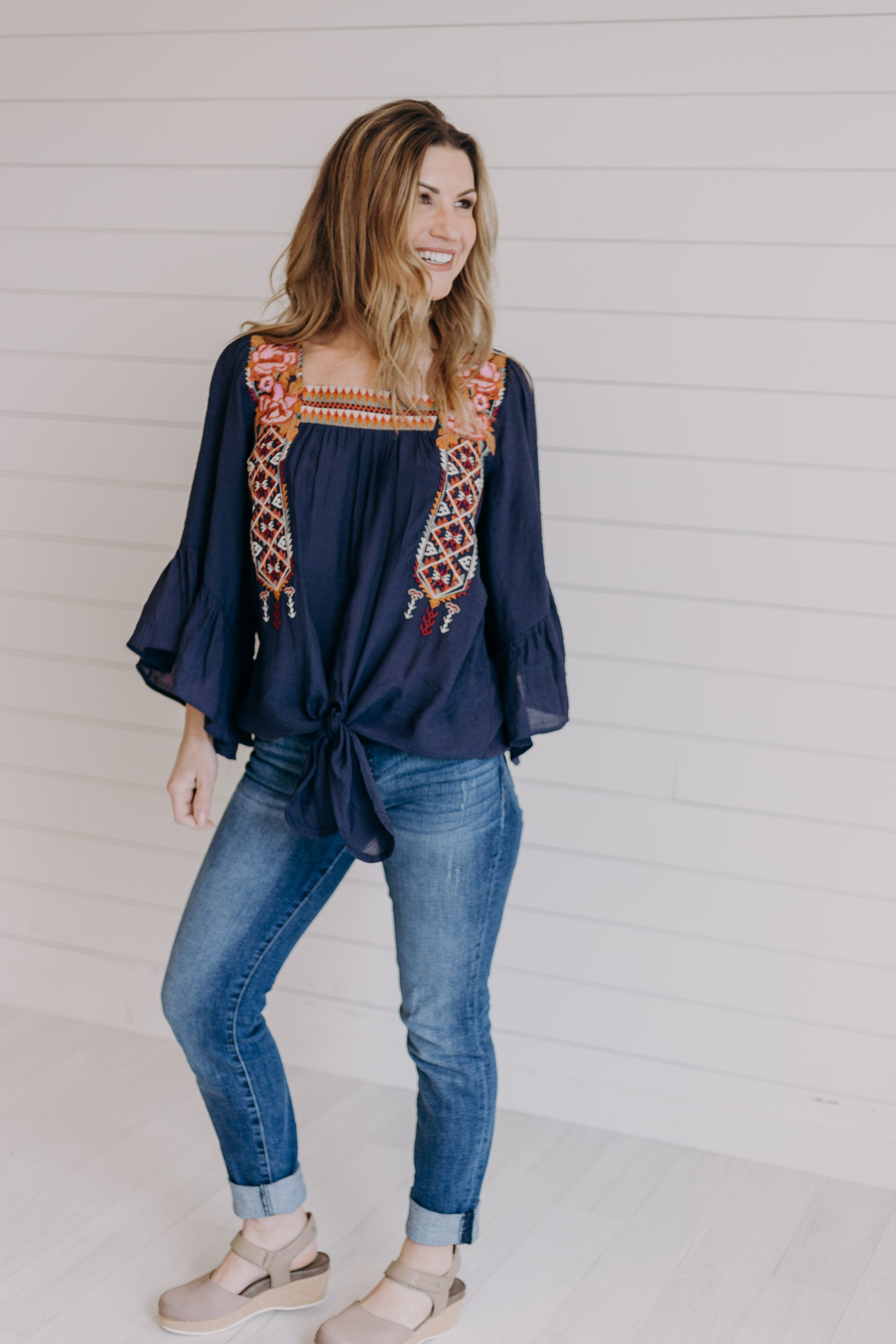 Dalilah Embroidered Blouse