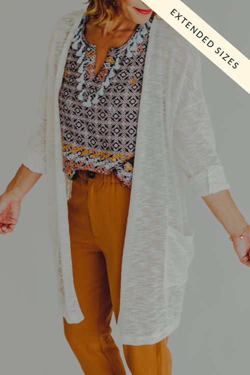 Winola Knit Cardigan *Off White
