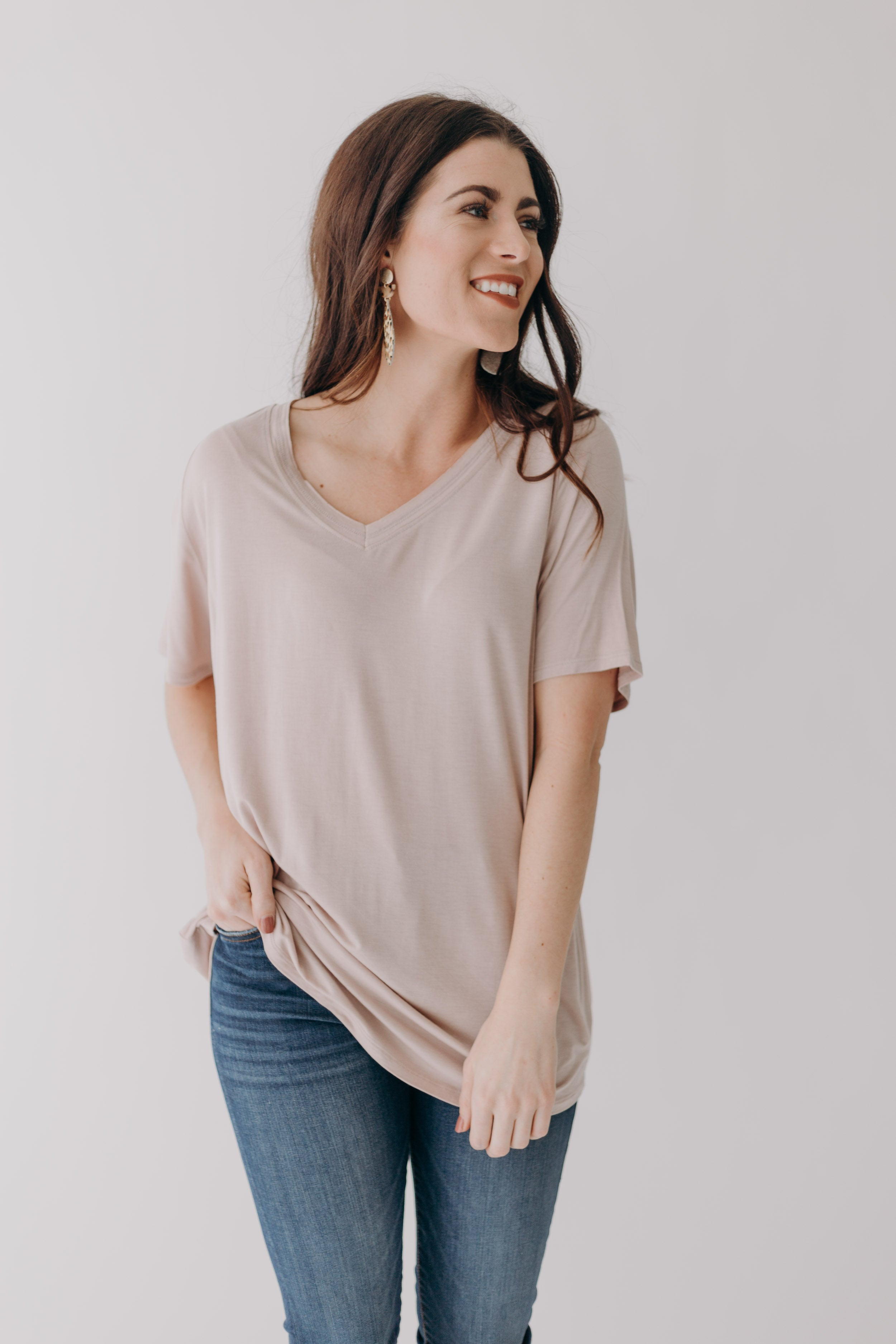 Shayley Tee *Tan