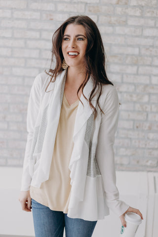 Eloise Off White Cardigan
