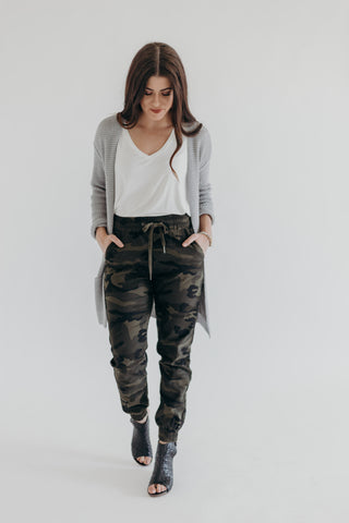Smokey Grey Camo Legging