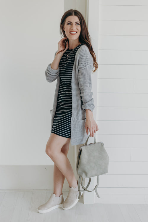 Light Grey Mist Cardigan