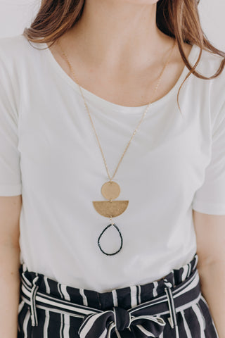 Luna Necklace *Navy