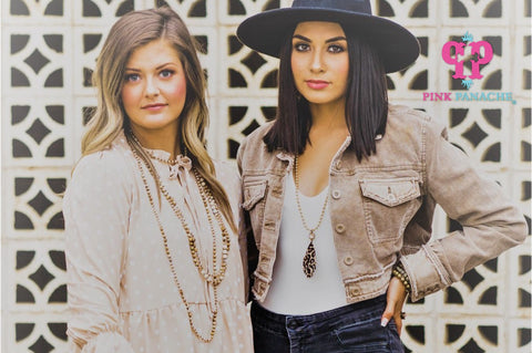 Pink Panache is a wholesale company and was founded by Canyon, TX sisters Dee Dee Plank and Noelle Plank Salmon