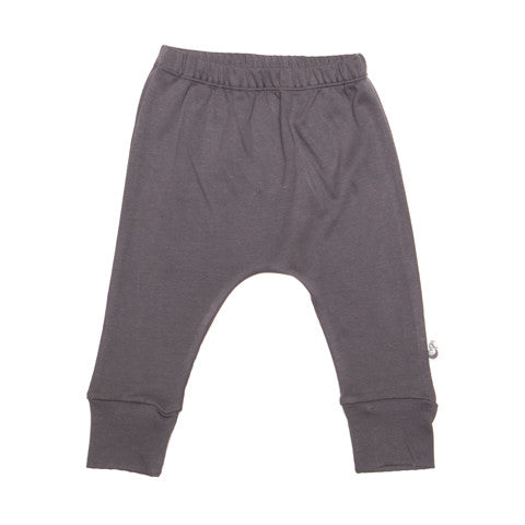Grey Stretchy Organic Cotton Pant - Moon Jelly