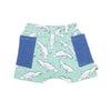 Platypus shorts Moon Jelly organic cotton