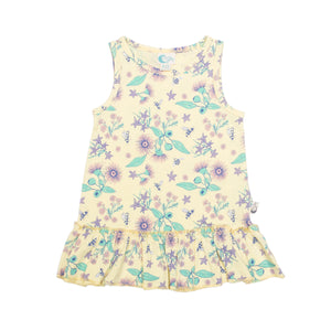 moon jelly floral bee dress