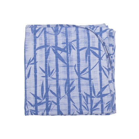 Bamboo Print Organic Cotton Baby Wrap - Moon Jelly
