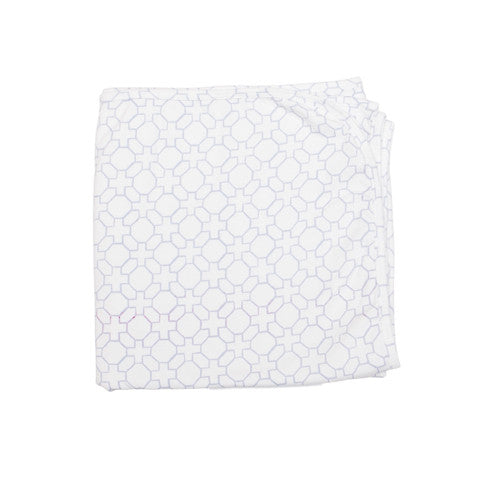 Geo Print Organic Cotton Baby Wrap Swaddle - Moon Jelly