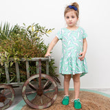 Platypus dress Moon Jelly organic cotton