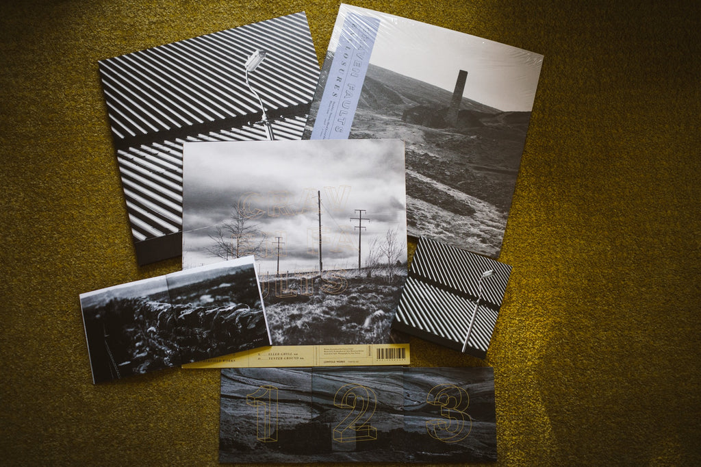Photo of artwork for Craven Faults vinyl and CD releases