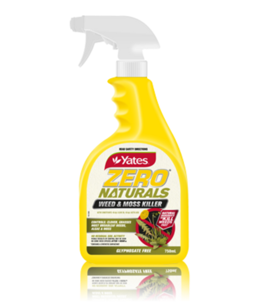 Yates Zero Naturals Weed & Moss Killer Ready To Use 750ml